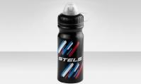 Фляга CB-1580A-1 680 мл, с колпачком от пыли,  материал полиэтилен, цвет чёрно-сине-белый