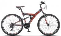 """Велосипед горный  Stels Focus V 26"""" 18-sp V020 черно/красный"""