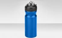 Фляга CB-1562 680 мл, с колпачком от пыли, алюминиевая, синяя