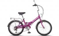 """Велосипед складной с колёсами 20"""" 6скоростей Pilot-3"""