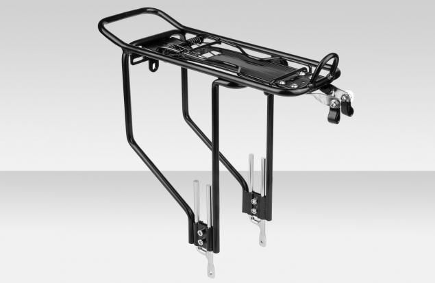 """Багажник 24""""-28"""" NH-CE 327AAJ-X-EJ03 регулируемый алюминиевый чёрный"""