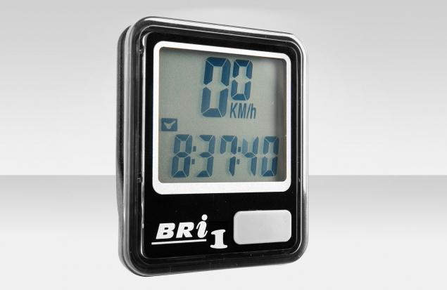 Велокомпьютер BRI-1, черный, 5 функций