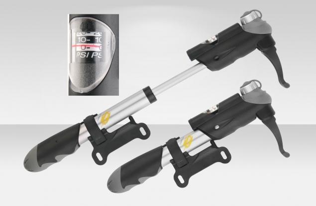 Насос GP-24D Giyo ручной, алюминиевый корпус, универсальный вентиль, двухходовой