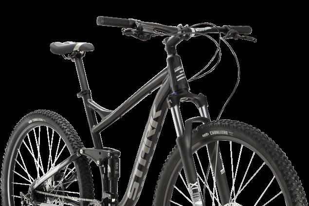 Двухподвес для кросс-кантри среднего уровня с колесами 29 дюймов. Подходит для катания по лёгкому и среднему бездорожью Велосипед STARK Tactic 29.5 FS HD (2020)