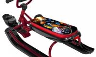 Снегокат Ника-джамп (РОБОТ) рама бордовая велоруль