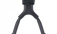 """Подножка велосипедная Kai Wei KWA 517-02 телескопическая, двойная, алюминий, для 26""""-28"""", цвет: черный"""