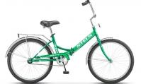 """Велосипед складной STELS Pilot-710 24"""" Z010 зеленый"""