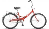 """Велосипед складной STELS Pilot-710 24"""" Z010 красный"""