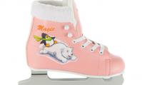 Двухполозные коньки СК (Спортивная Коллекция) Magic (детские) розовые
