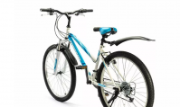 "Велосипед 26"" TOPGEAR Style бело-голубой ВН26431К"