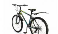 """Горный (MTB) велосипед Top Gear Forester 26 с крыльями (ВН26432К/ВН26436К) голубой/зеленый 18"""""""