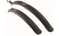 Крылья для велосипеда Simpla Classic SDE для 24 -26 , к-т, универсальные, черные.