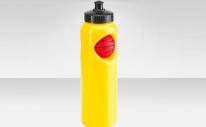 """Фляга CB-1573 700 мл, """"Баскетбольный мяч"""", полиэтилен, жёлтая"""