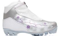 Лыжные ботинки SPINE NNN Comfort (83/4) (бело/сиреневый)