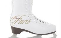 Фигурные коньки СК (Спортивная Коллекция) Paris Lux Fur с подсветкой