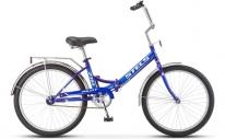 "Велосипед складной STELS Pilot-710 24"" Z010 синий"