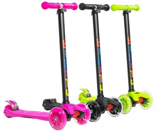 Трёхколёсный самокат для детей от 3х лет BiBiTu CAVY