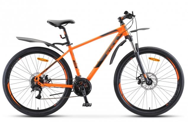 """Велосипед Stels Navigator-745 MD 27.5"""" V010 оранжевый"""