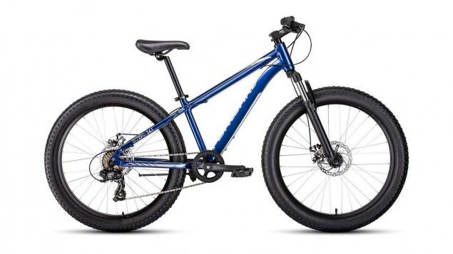 Велосипед Forward Bizon Mini 24 (2021) синий