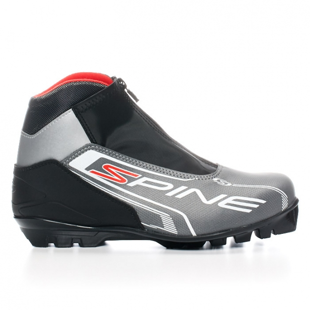 Лыжные ботинки SPINE NNN Comfort (83/7) (серо/черный)