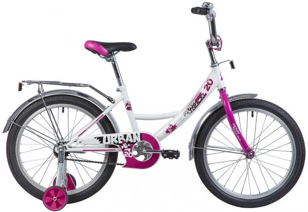 """Детский велосипед URBAN 20"""" белый"""